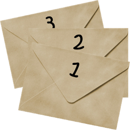 three-envelopes