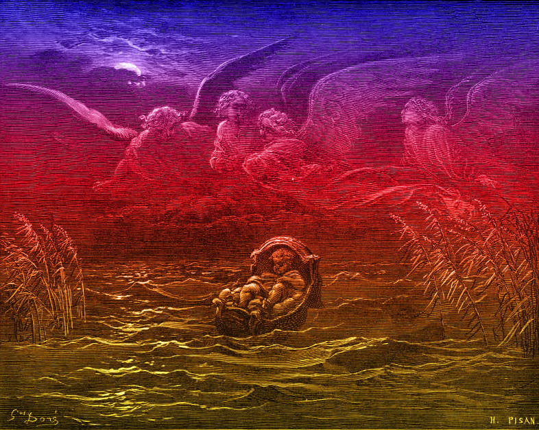 Exodus-Chapter-2-The-Child-Moses-on-the-Nile