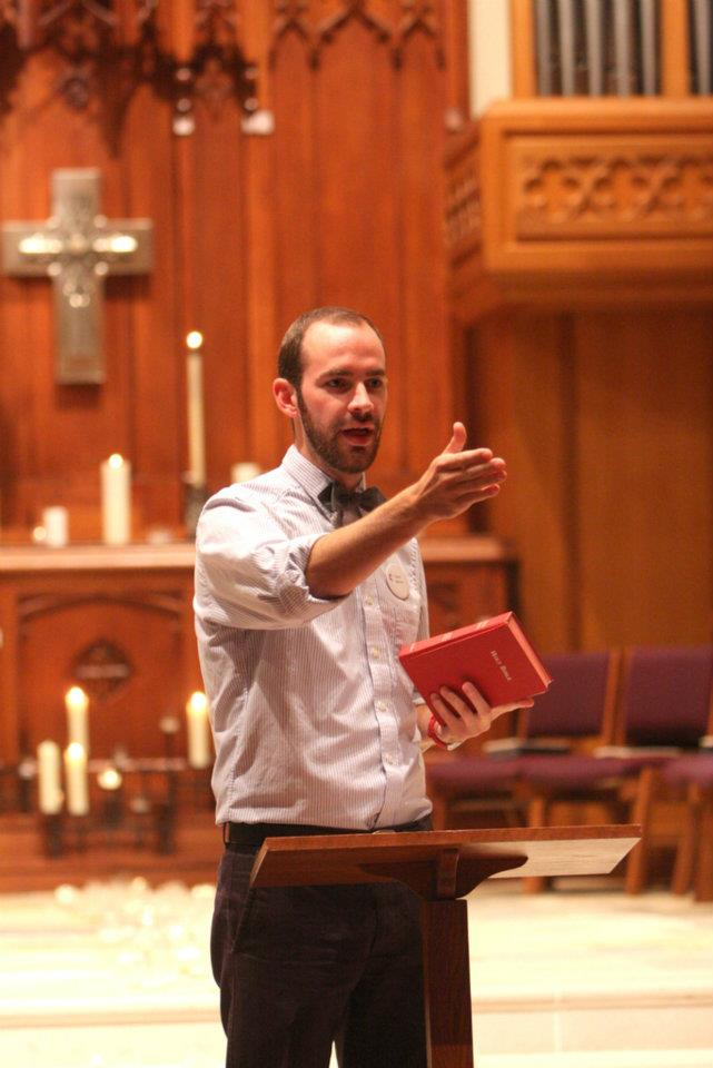 Preaching in Birmingham
