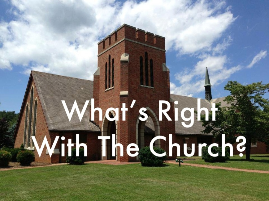 right with church