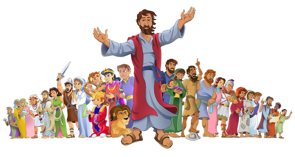 bibleheroeswJesus