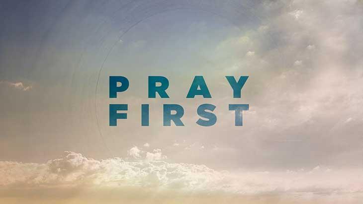 pray-first