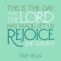 Devotional - Psalm 118.24
