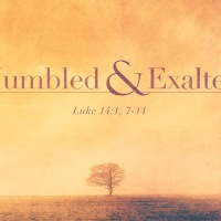 On Sitting At The Reject Table - Luke 14:1, 7-14