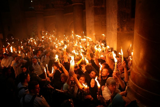 MIDEAST-JERUSALEM-RELIGION-CHRISTIAN-ORTHODOX-EASTER