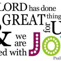 Devotional - Psalm 126.3