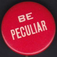 Be Peculiar